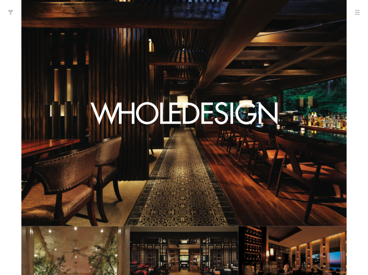 THE WHOLEDESIGN INC.ウェブサイト